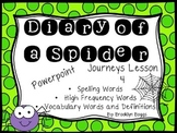 Diary of a Spider Powerpoint - Second Grade Journeys Lesson 4