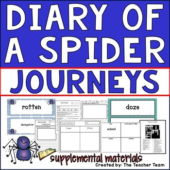 Diary of a Spider Journeys Second Grade Supplemental Materials