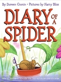 Diary of a Spider - Vocabulary Matching