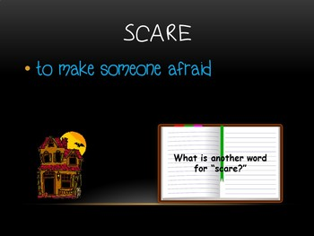 Diary of a Spider Vocabulary Power Point