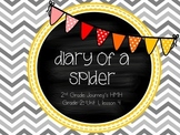 Diary of a Spider supplemental activities - Journey's 2nd