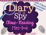 Spy Mini Book Close Reading Interactive Book