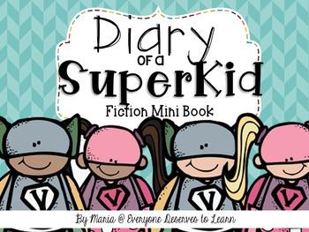 Superhero Comprehension Interactive Book