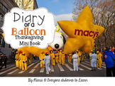 Thanksgiving Parade Informational Text Interactive Book