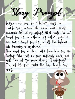 Diary of a Turkey - Fun Narrative Writing