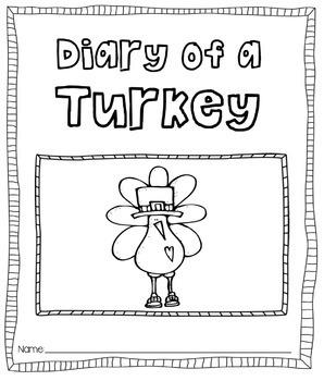 Diary of a Turkey [Journal Printable]