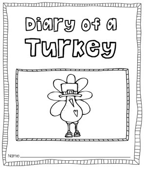 Diary of a Turkey [Journal Printable]