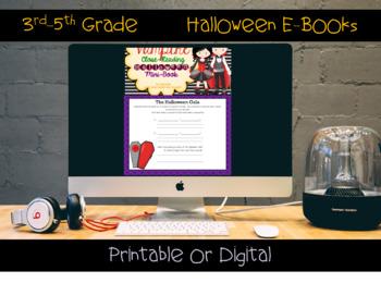 Vampire Comprehension Interactive Book