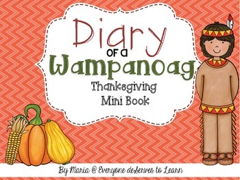 Wampanoag Comprehension Interactive Book