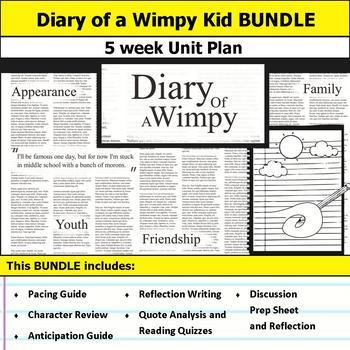 Diary of a Wimpy Kid Unit Bundle
