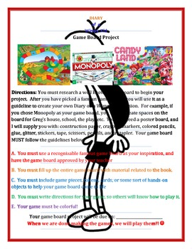 Diary of a Wimpy Kid Activities Only