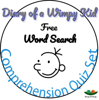 Diary of a Wimpy Kid - Book 1 - Multiple Choice Comprehension Quiz