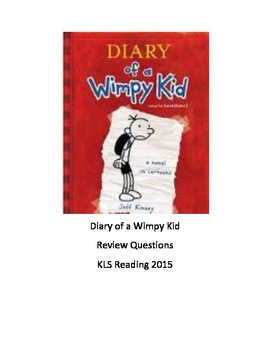 Diary of the wimpy kid book 1 pdf