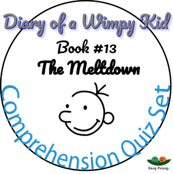 Diary Of A Wimpy Kid Meltdown Worksheets Teaching Resources Tpt