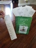 Diary of a Wimpy Kid Custom Book Display