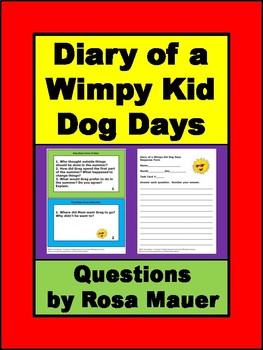 Dog Days Diary Of A Wimpy Kid Book Pdf