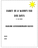 Diary of a Wimpy Kid: Dog Days Reading Comprehension Packet/Guide