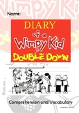 Diary of a Wimpy Kid - Double Down - Novel Study