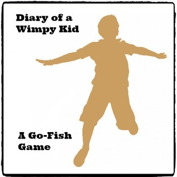 Diary of a Wimpy Kid: Go Fish Card Game - (Reed Novel Studies)