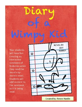 Diary of a Wimpy Kid Interactive Notebook