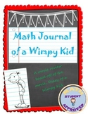 Diary of a Wimpy Kid Math Elementary/Middle School Review