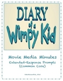 Diary of a Wimpy Kid ~ Movie Questions & Extended Response