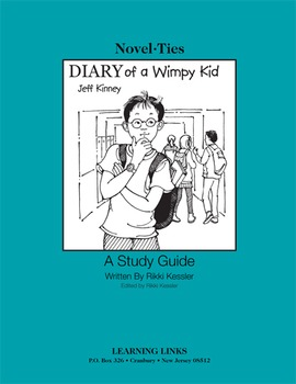 Diary of a Wimpy Kid - Novel-Ties Study Guide
