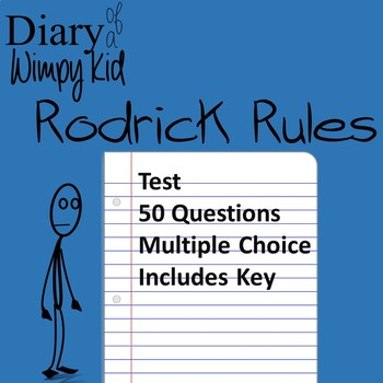 Diary of a Wimpy Kid Rodrick Rules Test