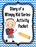 Diary of a Wimpy Kid Series Activity Packet