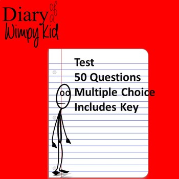 Diary of a Wimpy Kid Test