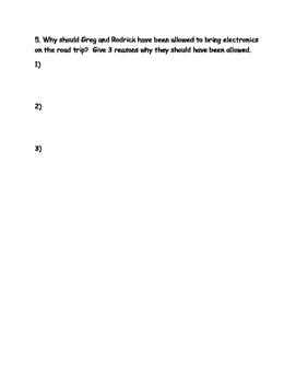 Diary of a Wimpy Kid: The Long Haul Novel Study