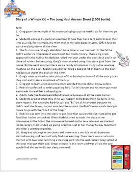 Diary of a wimpy kid the long haul question and answer sheets by diary of a wimpy kid the long haul question and answer sheets by jeff kinney solutioingenieria Choice Image