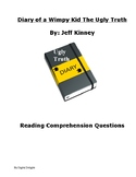 Diary of a Wimpy Kid: The Ugly Truth Reading Comprehension