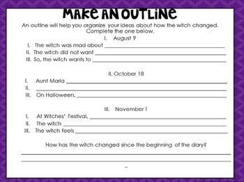 Witch Comprehension Interactive Book