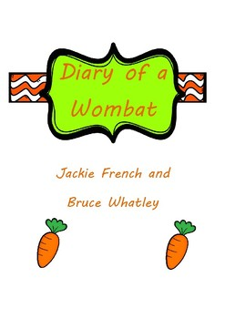 Diary of a Wombat Activities