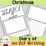 Diary of an Elf Christmas Writing