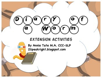 Diary of a Worm Extension Activities