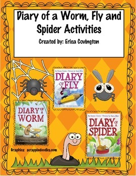 Diary of a Worm, Fly, and Spider Activities