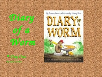 Diary of a Worm Guided reading lesson