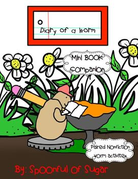 Diary of a Worm (Mini Book Companion with paired non-fiction activities)