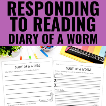 Diary of a Worm - Reading Response
