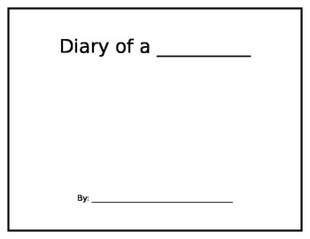 Diary of a Worm Writing Activity