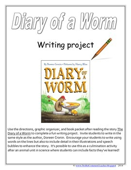 Diary of a Worm Writing Project