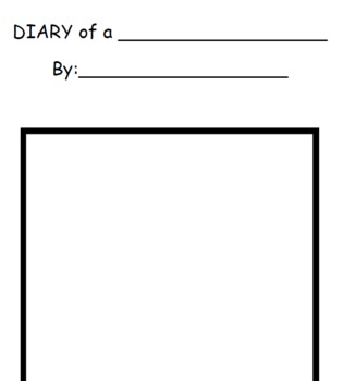 Diary of a worm template for writing by tiffany sargent tpt for Teacher diary template