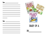 Diary of a... Writing Activity