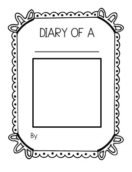 Diary of a.... Writing Packet