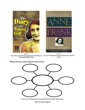 Diary of a Young Girl - The Diary of Anne Frank - Novel Study