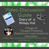 Diary of a wimpy Kid- Movie Discussion Guide