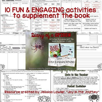 Diary of a...MEGA Activity Packet