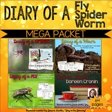 Diary of a Fly, Spider, Worm BUNDLE